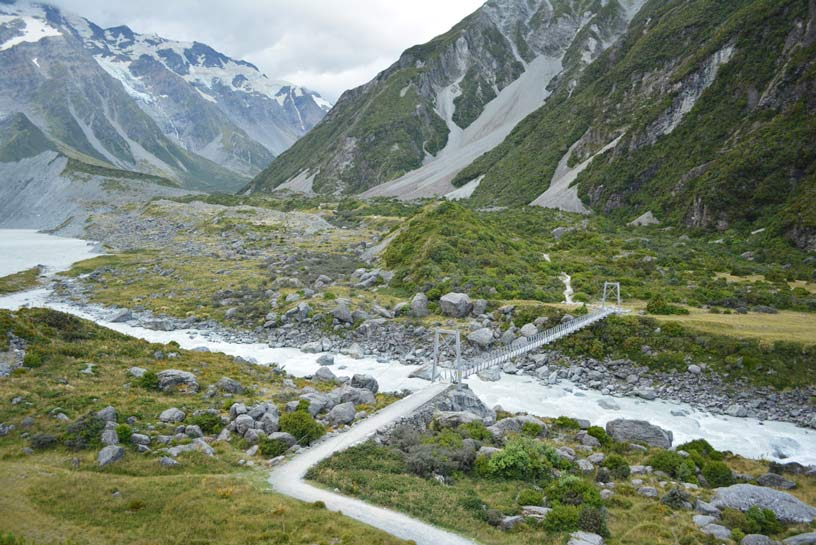 new zealand hooker valley