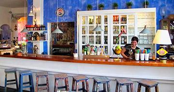 Bar at restaurant